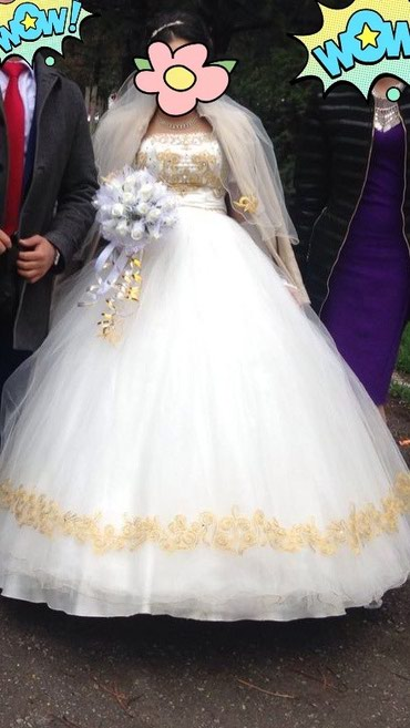 Продаю свадебное платье, с в Сокулук