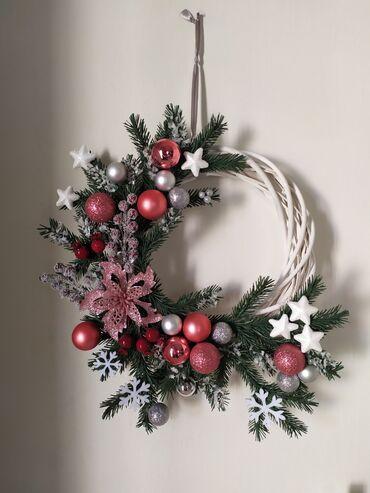Рождественский венок, Handmade
