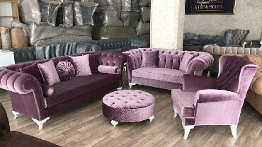 chester sofa - Azərbaycan: Chester divan balaca 600 azn 3 yerli 750 azn kreslo 300 aznIstenilen