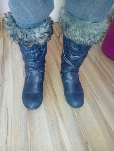 Zimske čizme kao nove malo korišćene. Unutrašnjost čizama je - Belgrade