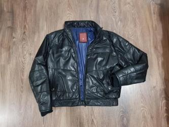 Muška odeća   Zajecar: SNIZENOOOO!!!Muska kozna jakna TRAPER kao nova,nosena je samo 2-3 puta