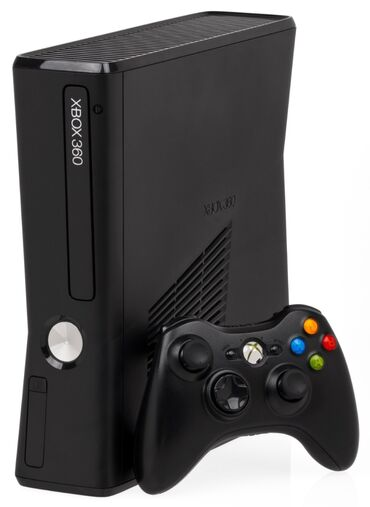 геймпад для гонок в Кыргызстан: Продам Xbox 360 slim 500 гб, состояние хорошее, 3 геймпада, сумка