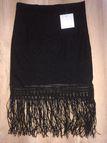 Новая черная юбка Размер : стандартный в Бишкек