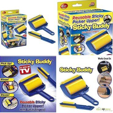 Kuća i bašta | Arandjelovac: Sticky Buddy Silikonski Lepljivi valjak za čišćenjeSamo 1090