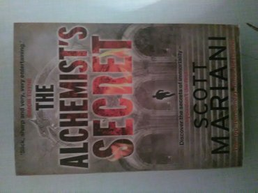 The Alchemists secret Scott Mariani . nova knjiga Alhemicareva formula - Kikinda