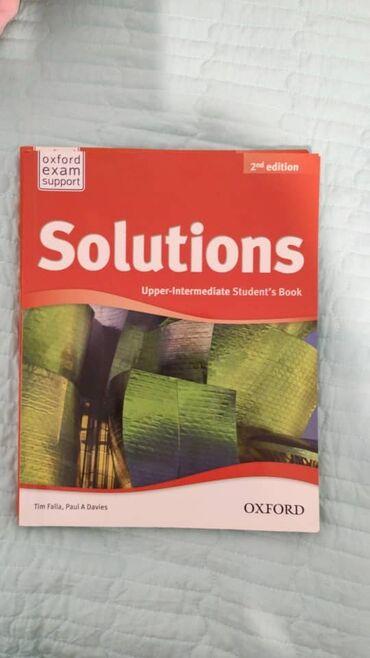 mac book в Кыргызстан: Учебники по английскому :Solutions (upper intermediate) - student's bo