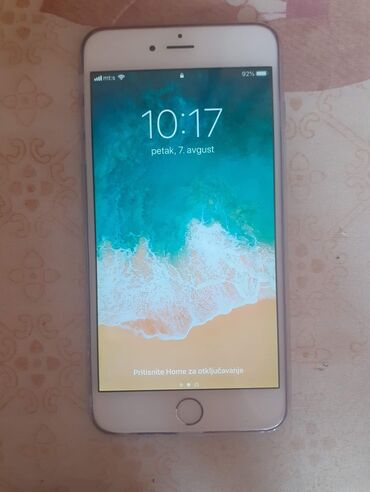 Apple Iphone - Valjevo: Polovni iPhone 6 Plus 16 GB Silver