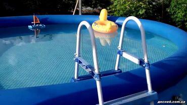 Продается новый надувной бассейн 200х76см