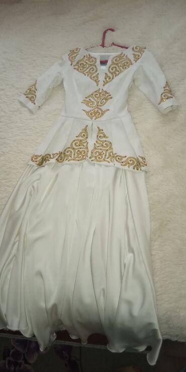 узбекские платья из панбархата в Кыргызстан: Прокат платье на кыз узатуу от дизайнера Айпери Обозоаой