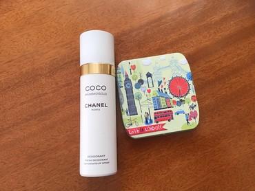 дезодорант женский в Кыргызстан: Парфюмированый дезодорант CHANEL и футляр для прокладок цена за оба