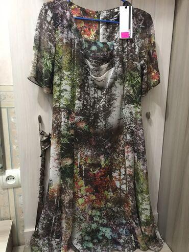 Платье, Турция. Продаю новое красивое турецкое платье 46-48 размера