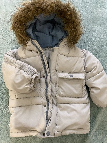 shapka-zara-dlja-devochki в Кыргызстан: Зимняя куртка в отличном состоянии Zara на 3-4 года!ростовка-104 см