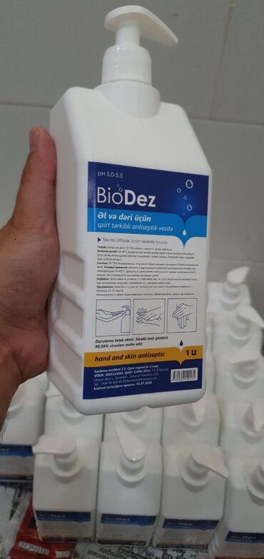 toptan - Azərbaycan: Antiseptik. antiseptic. dezinfeksiya. biodez əl antiseptik maye. 1lt q