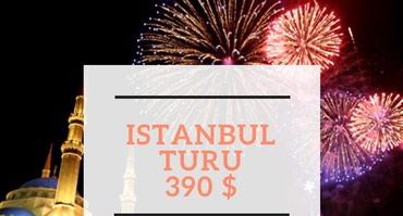 Bakı şəhərində İSTANBUL TURU- 390 $