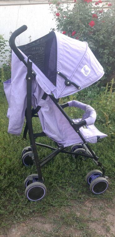 cool oo в Кыргызстан: Cool Baby прогулочная коляска трость, большой капюшон,имеется корзина