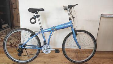 Корейский легкий велосипед складной состояния отличное продаю в