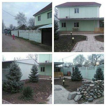 Продаю: Дом в Озёрном , 2-а этажа, кирпич, холл, 4-е комнаты, гардероб в Бишкеке
