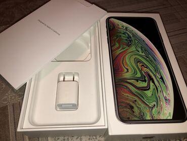 iphone xs max купить бу в Кыргызстан: Новый iPhone Xs Max 64 ГБ Черный