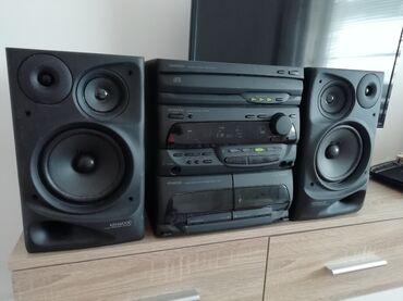 Audio | Srbija: Muzička linija Kenwood. Linija ima radio FM, cd (neispravan), dek
