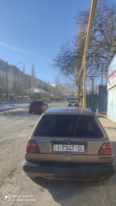 volkswagen ag в Кыргызстан: Volkswagen Golf GTI 1.8 л. 1991