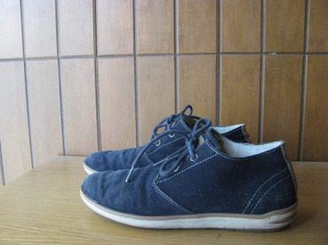 Skechers cipele od prevrnute koze( plave) udobne i lagane sto je i - Zrenjanin
