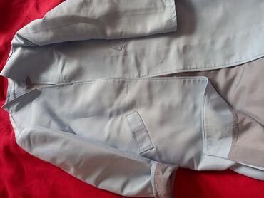Пиджак удалённый, цвет светло-голубого,размеры стандарт