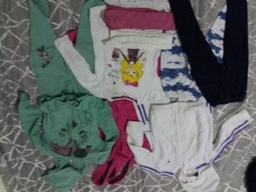 Paket-postavljene somot pantalone Todor, bela trenerka Todor, pamučna - Sombor