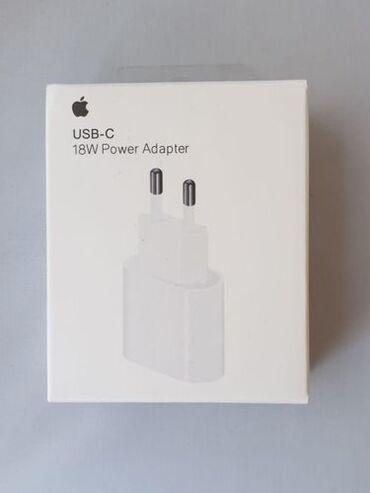 iphone 5 c в Азербайджан: Iphone 11-12 adapter USB-C 18W  28 maya pulsuz chatdirilma