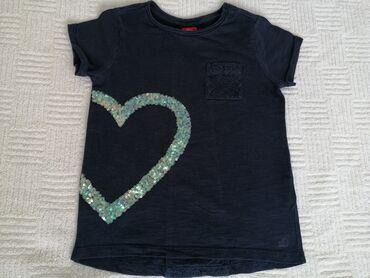S.Oliver plava majica vel. 104/110Romantična s.Oliver pamučna majica