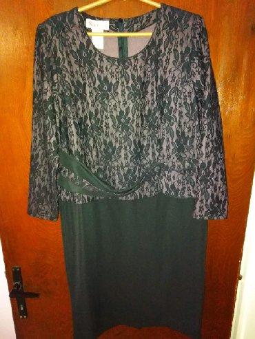Haljine | Kovin: Haljina elegantna,pogodna i za krupnije dame.Ima dosta elastina,nosena