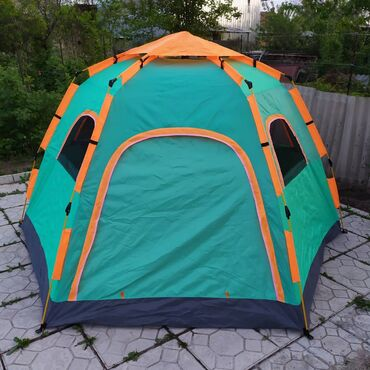 Палатки в Лебединовка: Палатка ромб (лето) 2,60х2,80 м; высота 1,45 м. 2 двери, 4 окна. Моски