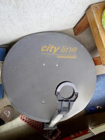 Manchester city - Srbija: Satelitska antena City line Grundig