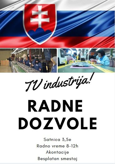 Slovacka. TV industrija. 3,5e sat. - Belgrade