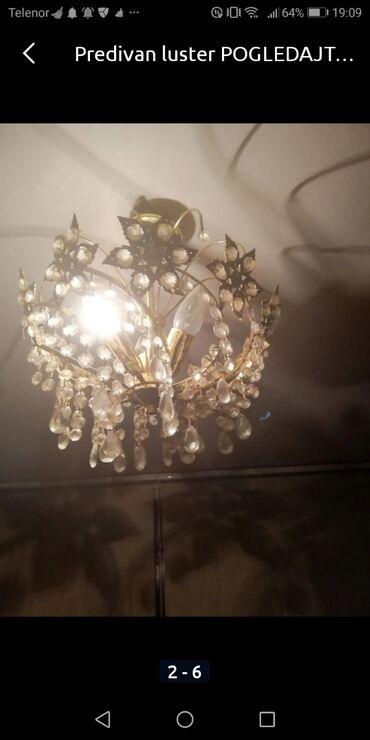 Kuća i bašta - Pancevo: Savršen luster  Podosta star  3000 fiksno