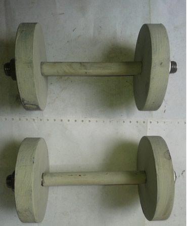 Metalni tegovi za vežbanje-ruku, sve kao na slici, tegovi svaki po - Nova Pazova