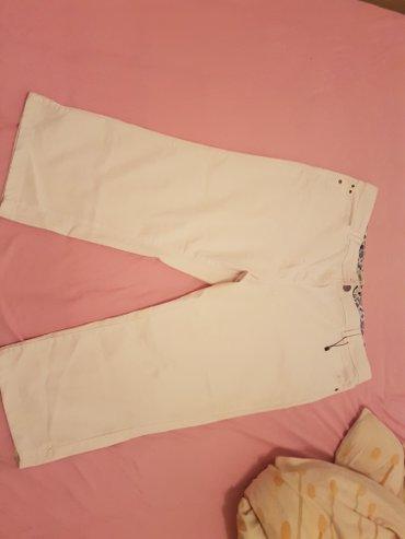Pantalone 3/4 ZA PUNIJE VEL 52 NOVEE.97%pamuk 3% likra.duzina nogavica - Arandjelovac