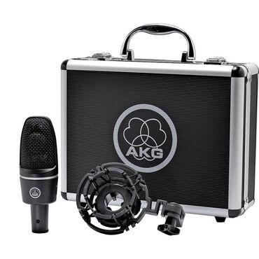 studijnyj-mikrofon-akg-p120 в Кыргызстан: Продается студийный конденсаторный микрофон AKG C300, внешняя звуковая
