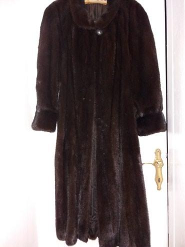 Krzneni kaputi | Indija: Duga, crna bunda, od NERCA