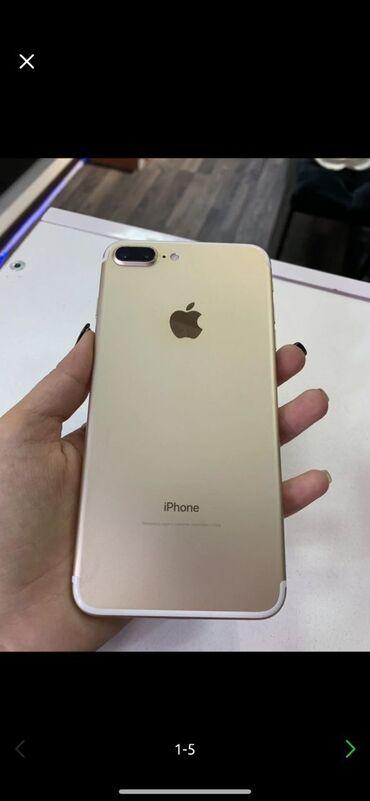 сколько стоит iphone 6 plus in Кыргызстан   APPLE IPHONE: IPhone 7 Plus   128 ГБ   Золотой Б/У
