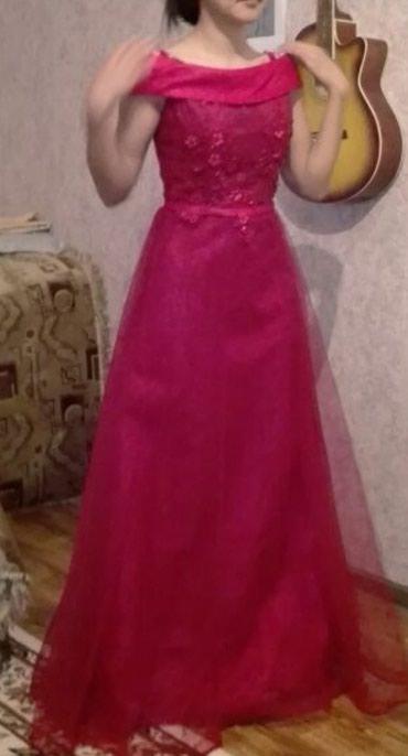 Красное платье новое в Бишкек