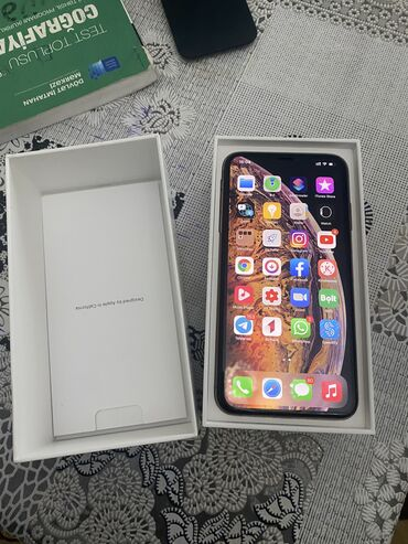 телефон раскладушка флай ezzy trendy в Азербайджан: Б/У iPhone Xs Max 256 ГБ Золотой
