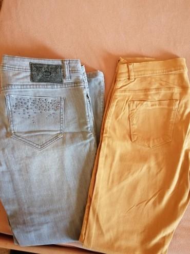 Nove pantalone nikad nosene. marke SPRIT braon su sa dosta elastina