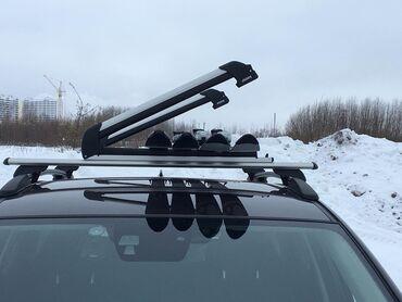 моушн дизайн бишкек в Кыргызстан: Различные крепления для перевозки лыж и сноубордов на крыше автомобиля