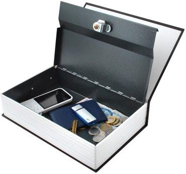 Knjiga Sef / Kutija za skrivanje i skladištenje Novca,Nakita - Kragujevac