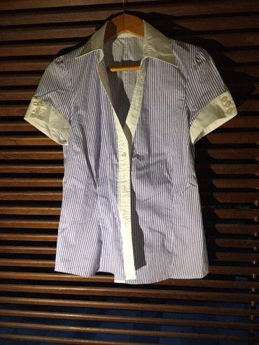 Βαμβακερό γυναικείο πουκάμισο , μπλε- σε Rest of Attica