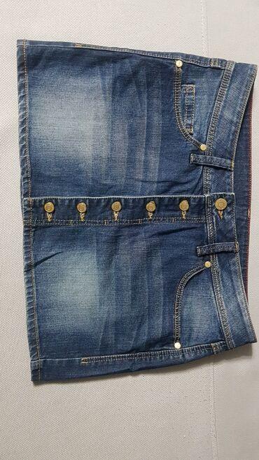 Срочно . Юбка джинсовая. Одевали 1 раз