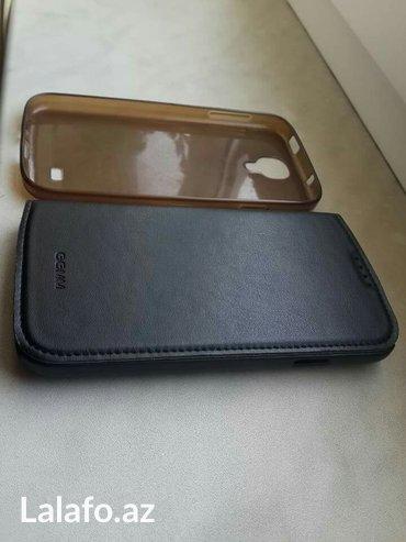 Bakı şəhərində Samsung s 4 üçün silikon ve deri üzlük satılır. 1 manat. Deri 2 azn. S
