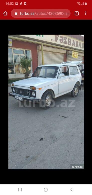 niva satilir - Azərbaycan: VAZ (LADA) 4x4 Niva 1.7 l. 1988 | 100000 km