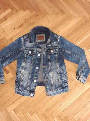 Moderna teksas jakna za decake,velicina 116 ili za 5-6 god. Kao nova