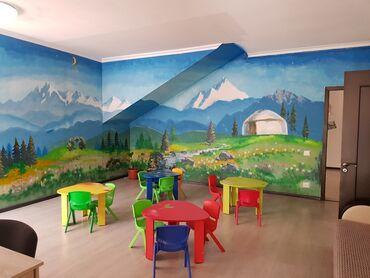 продам часть дома в Кыргызстан: Продаю 2-х здание (частный дом) с готовым бизнecом, чacтный дeтcкий